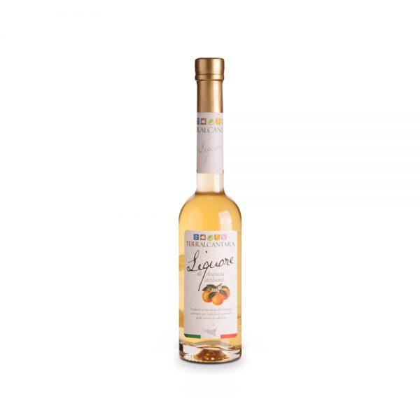 Liquore di arancia siciliana